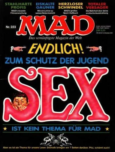 Cover for Mad (BSV - Williams, 1967 series) #223