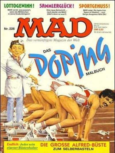 Cover for Mad (BSV - Williams, 1967 series) #226