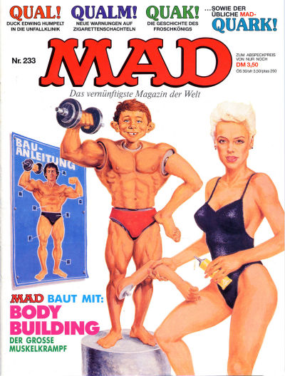 Cover for Mad (BSV - Williams, 1967 series) #233