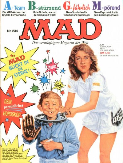 Cover for Mad (BSV - Williams, 1967 series) #234