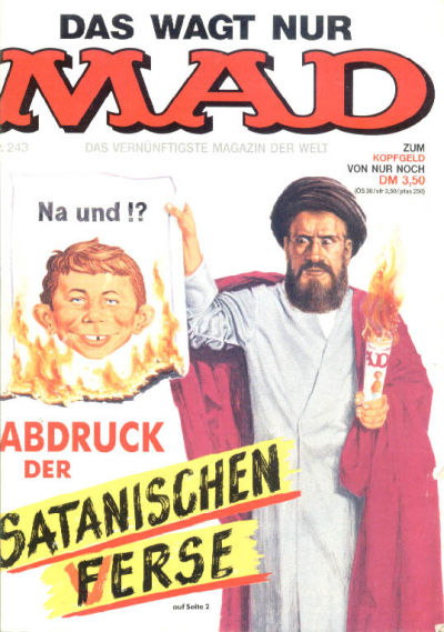 Cover for Mad (BSV - Williams, 1967 series) #243