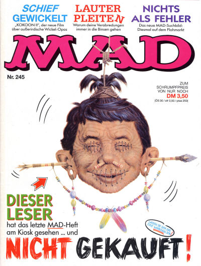Cover for Mad (BSV - Williams, 1967 series) #245