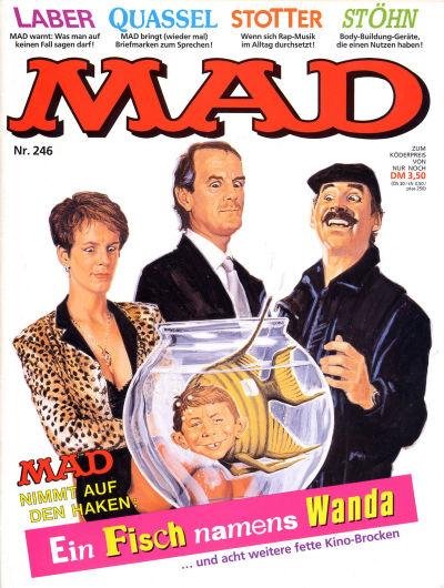 Cover for Mad (BSV - Williams, 1967 series) #246