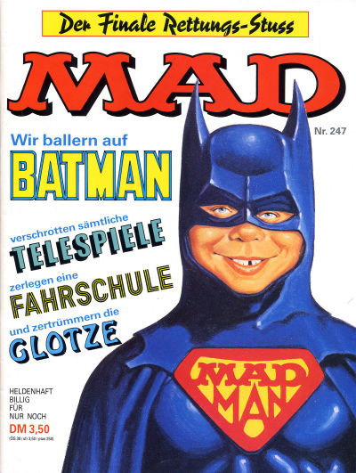 Cover for Mad (BSV - Williams, 1967 series) #247