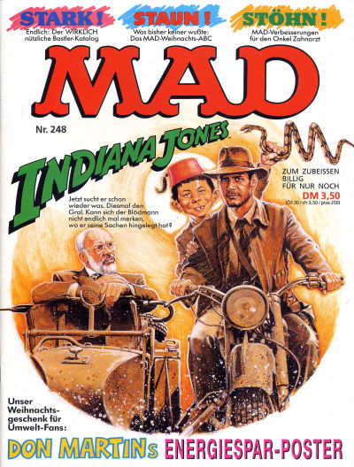 Cover for Mad (BSV - Williams, 1967 series) #248