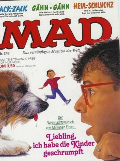 Cover for Mad (BSV - Williams, 1967 series) #249