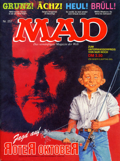 Cover for Mad (BSV - Williams, 1967 series) #257