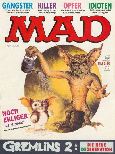 Cover for Mad (BSV - Williams, 1967 series) #258