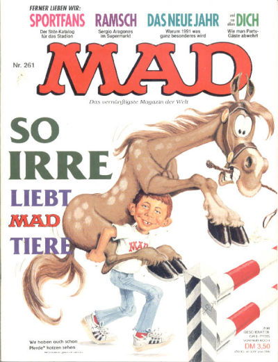 Cover for Mad (BSV - Williams, 1967 series) #261