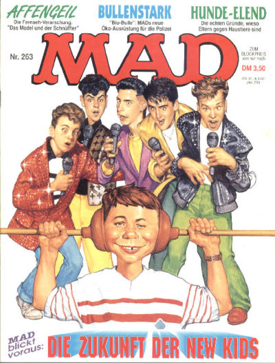 Cover for Mad (BSV - Williams, 1967 series) #263