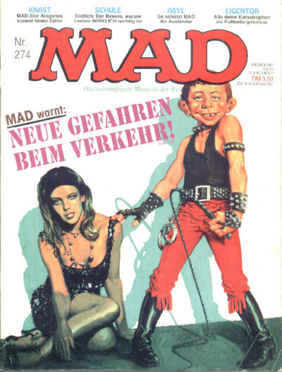 Cover for Mad (BSV - Williams, 1967 series) #274