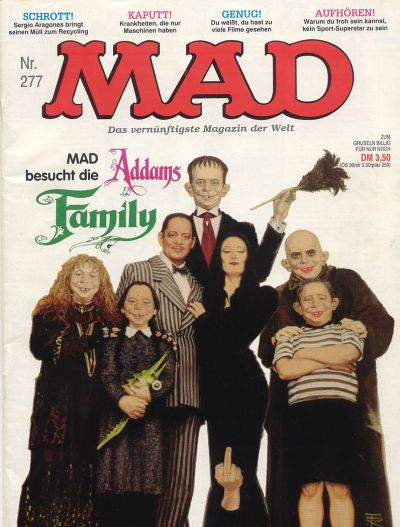 Cover for Mad (BSV - Williams, 1967 series) #277