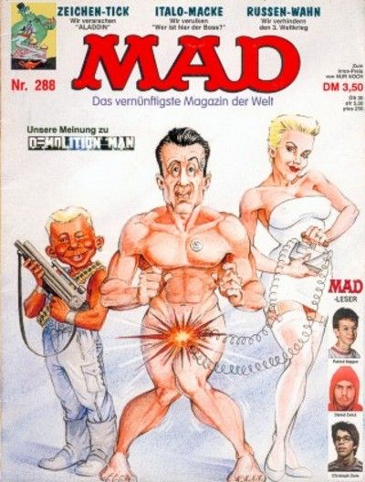 Cover for Mad (BSV - Williams, 1967 series) #288