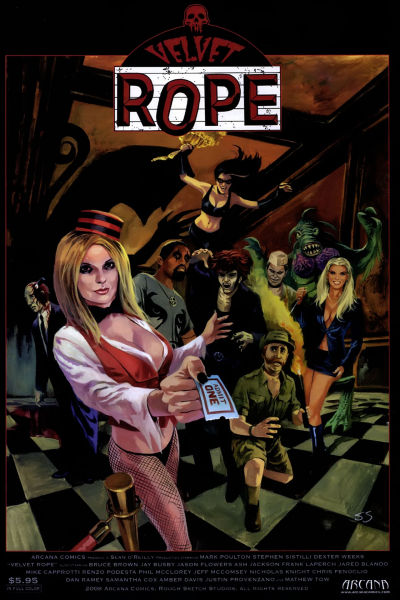 Cover for Velvet Rope (Arcana, 2008 series) #1