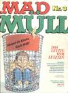 Cover for Mad Müll (BSV - Williams, 1983 series) #3