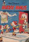 Cover for Micky Maus (Egmont Ehapa, 1951 series) #1/1952