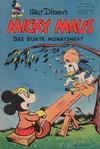 Cover for Micky Maus (Egmont Ehapa, 1951 series) #4/1952