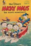 Cover for Micky Maus (Egmont Ehapa, 1951 series) #7/1952