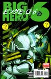 Cover for Big Hero 6 (Marvel, 2008 series) #4