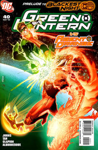 Cover Thumbnail for Green Lantern (DC, 2005 series) #40 [First Printing]