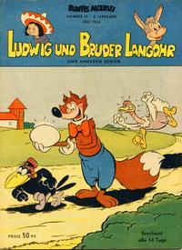 Cover Thumbnail for Buntes Allerlei (Aller Verlag, 1953 series) #15/1954