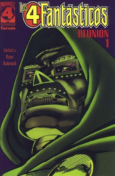 Cover for Los 4 Fantasticos: Reunion (Planeta DeAgostini, 1997 series) #1