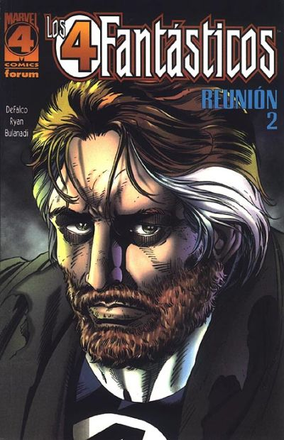 Cover for Los 4 Fantasticos: Reunion (Planeta DeAgostini, 1997 series) #2