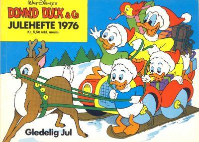 Cover for Donald Duck & Co julehefte (Hjemmet / Egmont, 1968 series) #1976