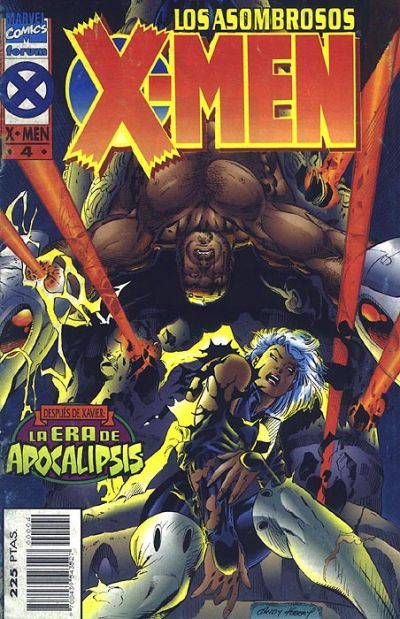 Cover for Los Asombrosos X-Men (Planeta DeAgostini, 1995 series) #4