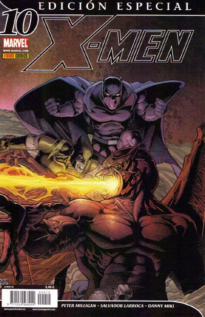 Cover for X-Men (Panini España, 2006 series) #10
