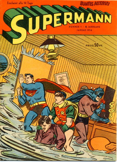 Cover for Buntes Allerlei (Aller Verlag, 1953 series) #1/1954