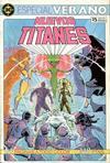 Cover for Nuevos Titanes [Nuevos Titanes Especial Verano] (Zinco, 1987 series)