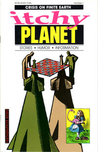 Cover Thumbnail for Itchy Planet (Fantagraphics, 1988 series) #1