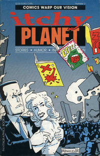 Cover Thumbnail for Itchy Planet (Fantagraphics, 1988 series) #2