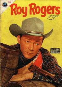 Cover Thumbnail for Roy Rogers (Editorial Novaro, 1952 series) #13