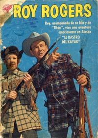 Cover Thumbnail for Roy Rogers (Editorial Novaro, 1952 series) #96