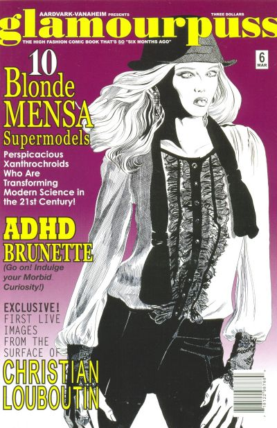 Cover for glamourpuss (Aardvark-Vanaheim, 2008 series) #6