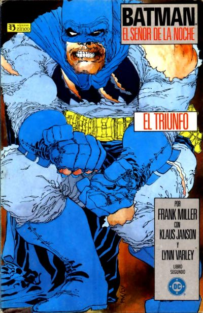 Cover for Batman: El Señor de la Noche (Zinco, 1987 series) #2