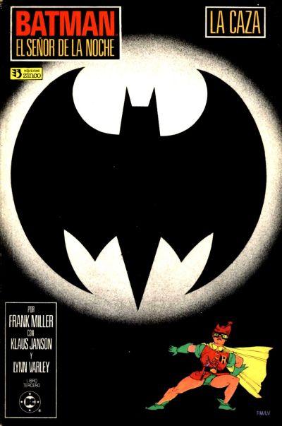 Cover for Batman: El Señor de la Noche (Zinco, 1987 series) #3
