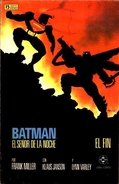 Cover for Batman: El Señor de la Noche (Zinco, 1987 series) #4