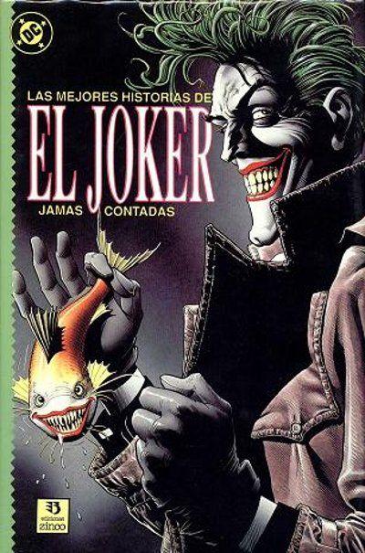 Cover for Las Mejores Historias del Joker  jamás contadas (Zinco, 1989 series)