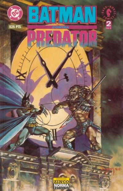Cover for Batman vs. Predator (Zinco, 1992 series) #2