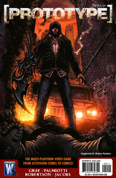 Cover for Prototype (DC, 2009 series) #2