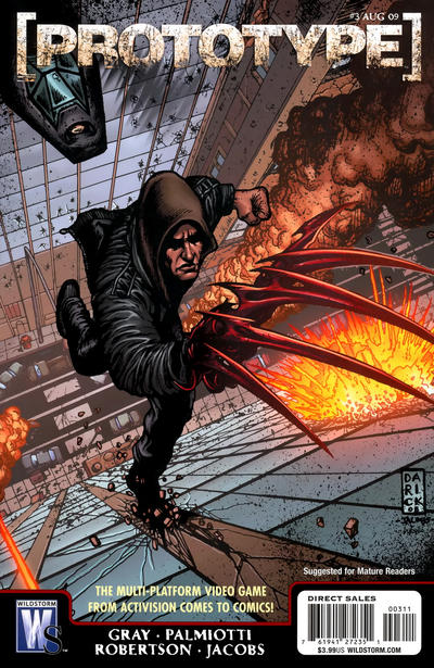 Cover for Prototype (DC, 2009 series) #3