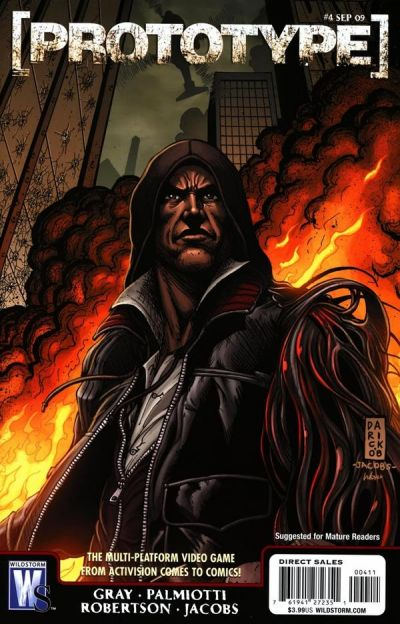 Cover for Prototype (DC, 2009 series) #4