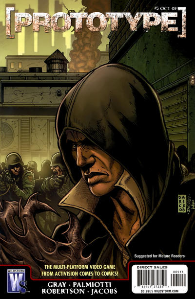 Cover for Prototype (DC, 2009 series) #5