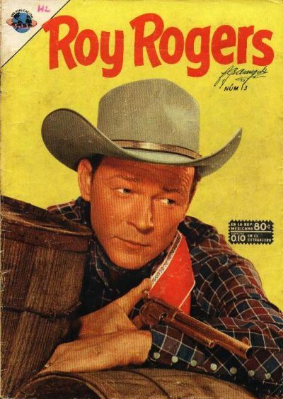 Cover for Roy Rogers (Editorial Novaro, 1952 series) #13