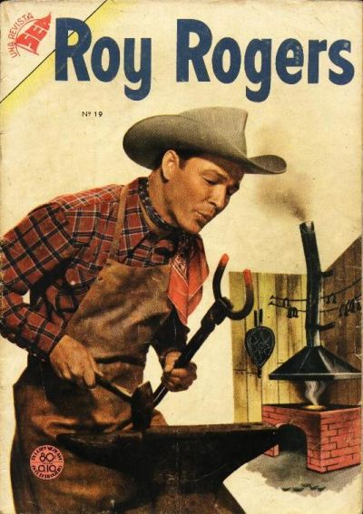 Cover for Roy Rogers (Editorial Novaro, 1952 series) #19