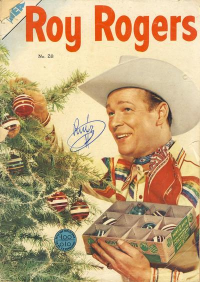Cover for Roy Rogers (Editorial Novaro, 1952 series) #28