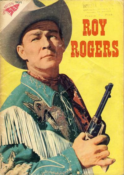 Cover for Roy Rogers (Editorial Novaro, 1952 series) #79
